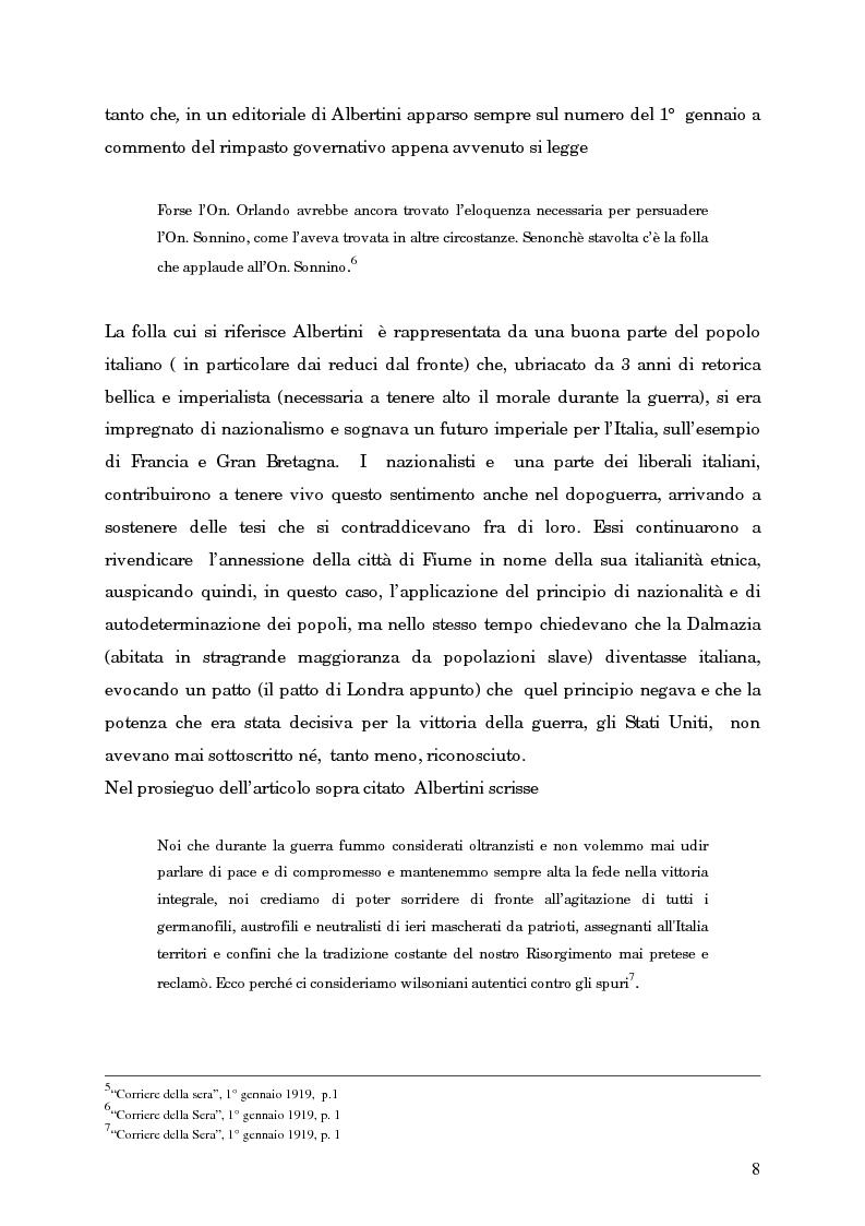 Anteprima della tesi: L'avvento del fascismo attraverso le pagine del ''Corriere della Sera'' (1919-1925), Pagina 7