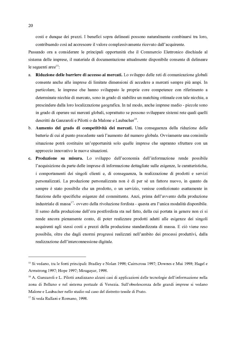 Anteprima della tesi: E-Commerce: nuovi scenari per nuovi mercati, Pagina 12