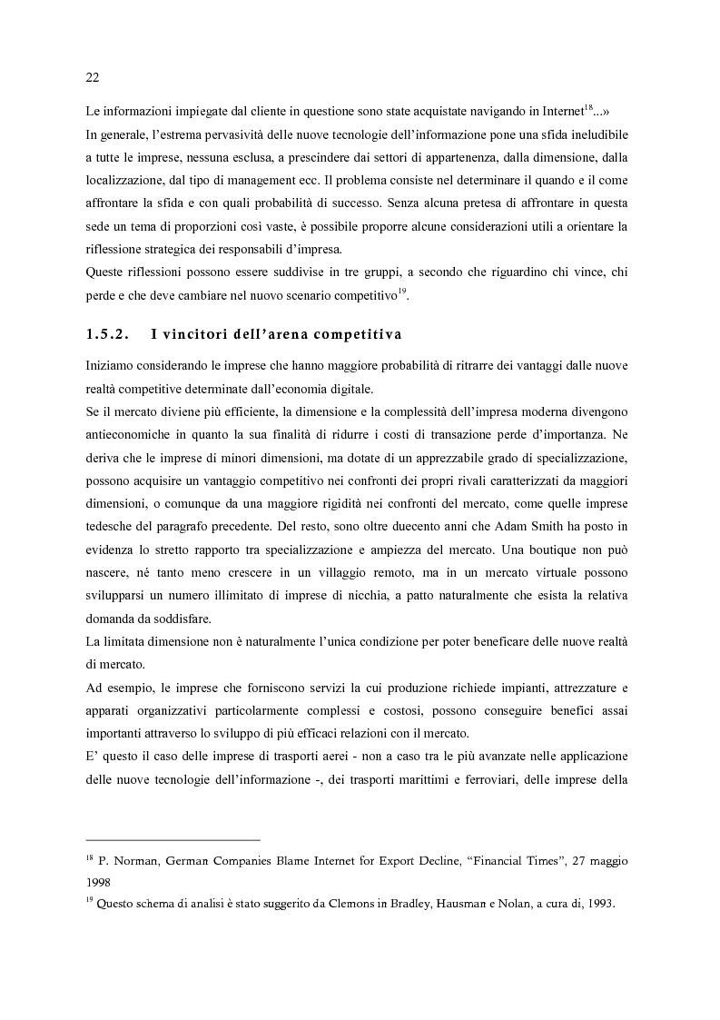 Anteprima della tesi: E-Commerce: nuovi scenari per nuovi mercati, Pagina 14