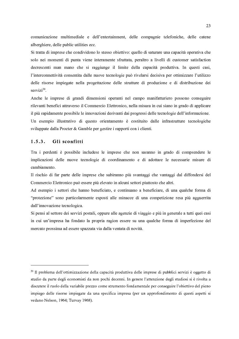 Anteprima della tesi: E-Commerce: nuovi scenari per nuovi mercati, Pagina 15