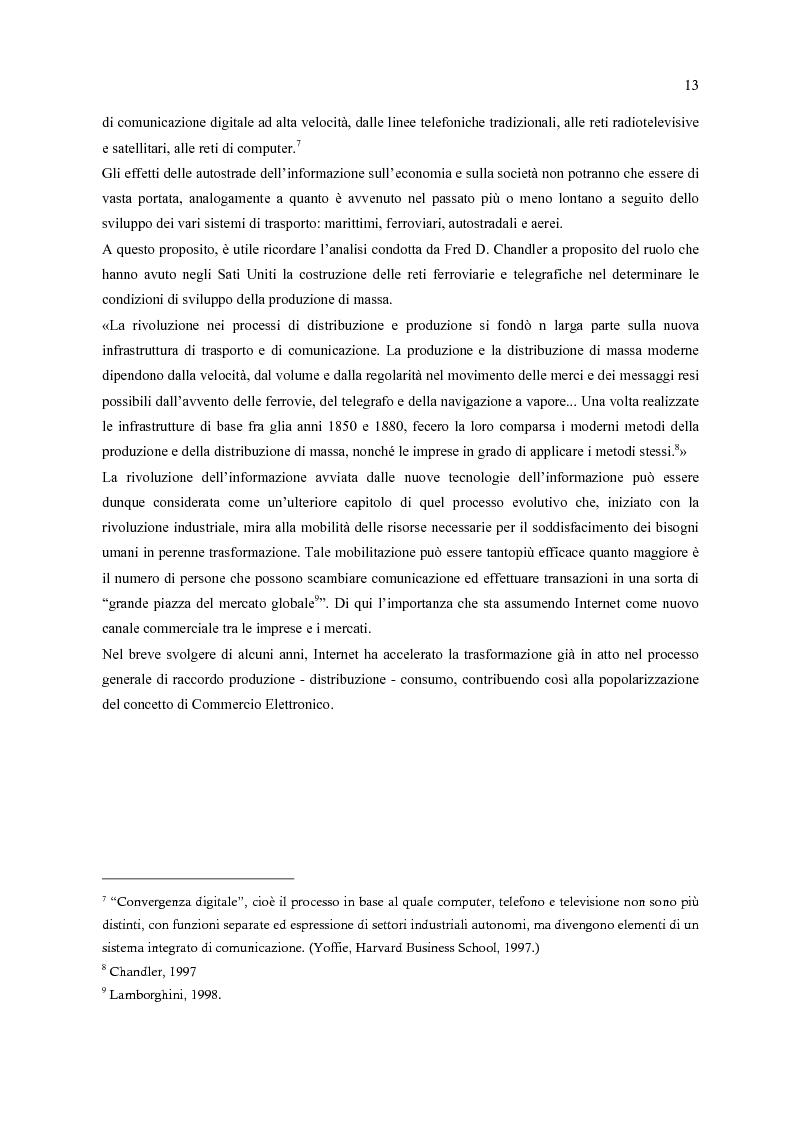 Anteprima della tesi: E-Commerce: nuovi scenari per nuovi mercati, Pagina 5