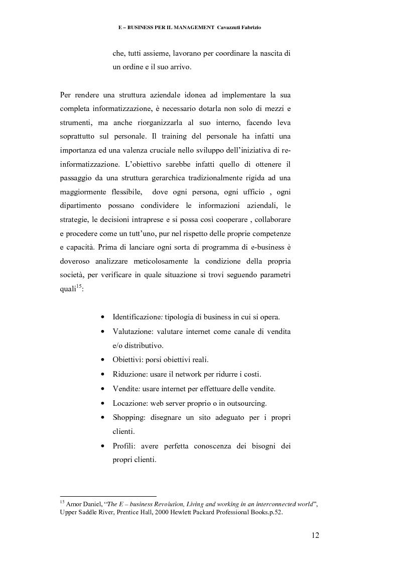 Anteprima della tesi: E-business per il management, Pagina 12