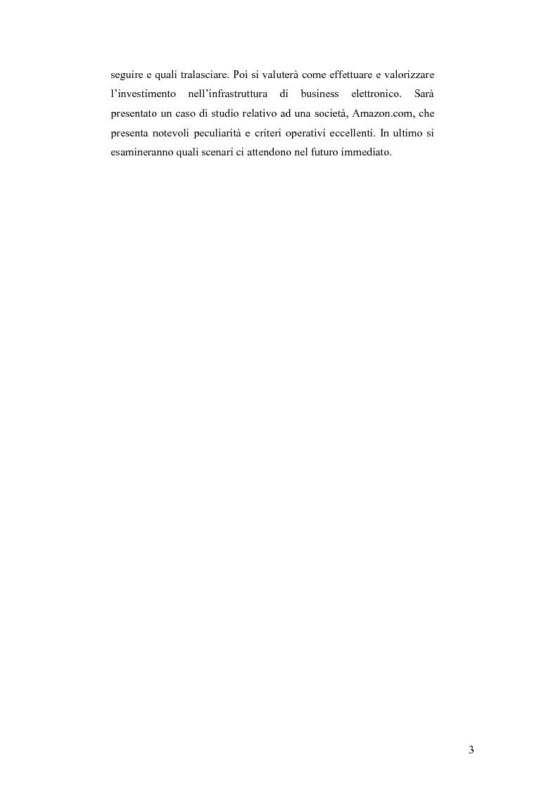 Anteprima della tesi: E-business per il management, Pagina 3