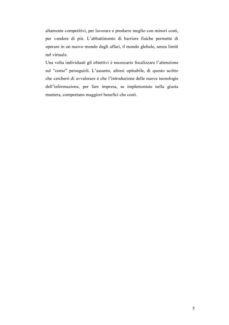 Anteprima della tesi: E-business per il management, Pagina 5