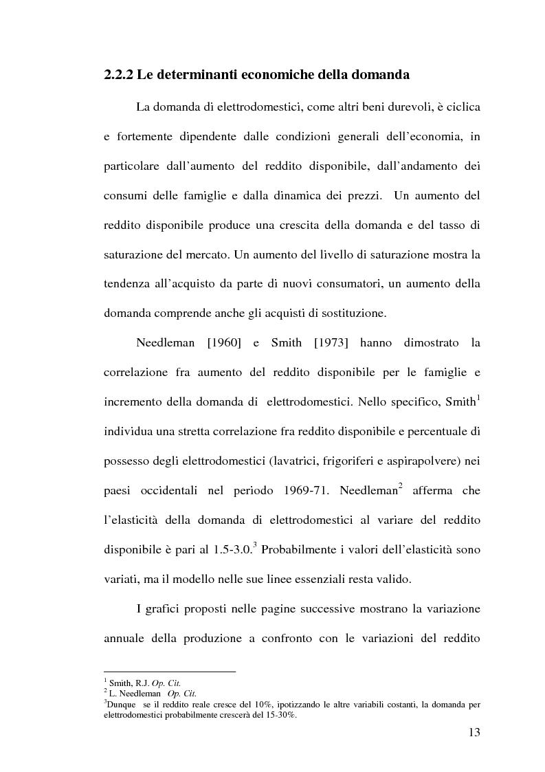 Anteprima della tesi: Strategie competitive nell'industria europea degli elettrodomestici bianchi, Pagina 12