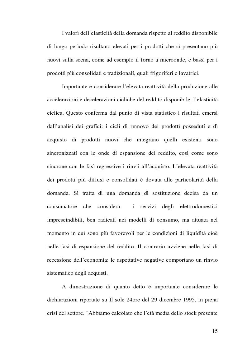 Anteprima della tesi: Strategie competitive nell'industria europea degli elettrodomestici bianchi, Pagina 14