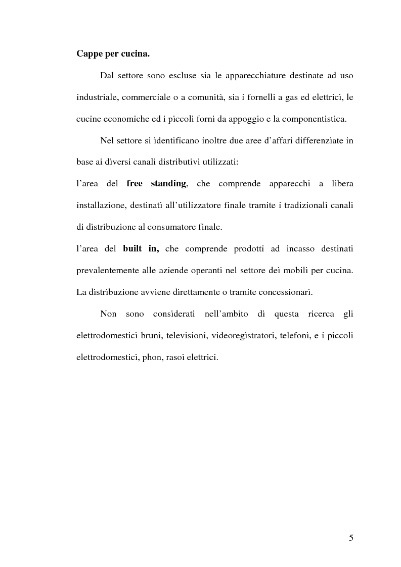 Anteprima della tesi: Strategie competitive nell'industria europea degli elettrodomestici bianchi, Pagina 4