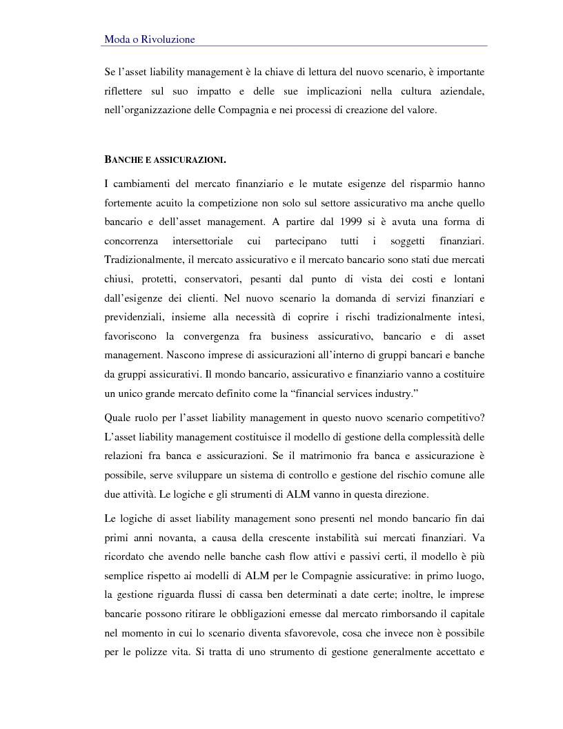 Anteprima della tesi: Asset liability management per le compagnie di assicurazione sulla vita. Un caso operativo, Pagina 5