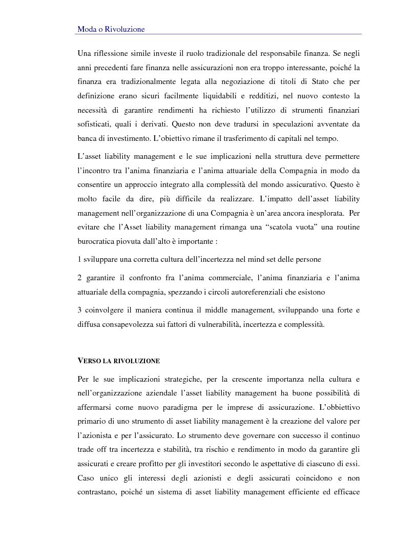 Anteprima della tesi: Asset liability management per le compagnie di assicurazione sulla vita. Un caso operativo, Pagina 9