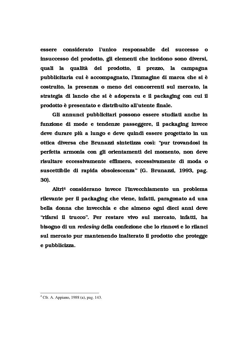 Anteprima della tesi: La pubblicità del packaging: il caso della Vodka Absolut, Pagina 12