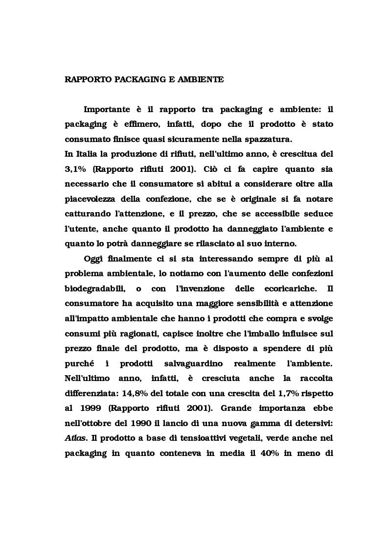 Anteprima della tesi: La pubblicità del packaging: il caso della Vodka Absolut, Pagina 13