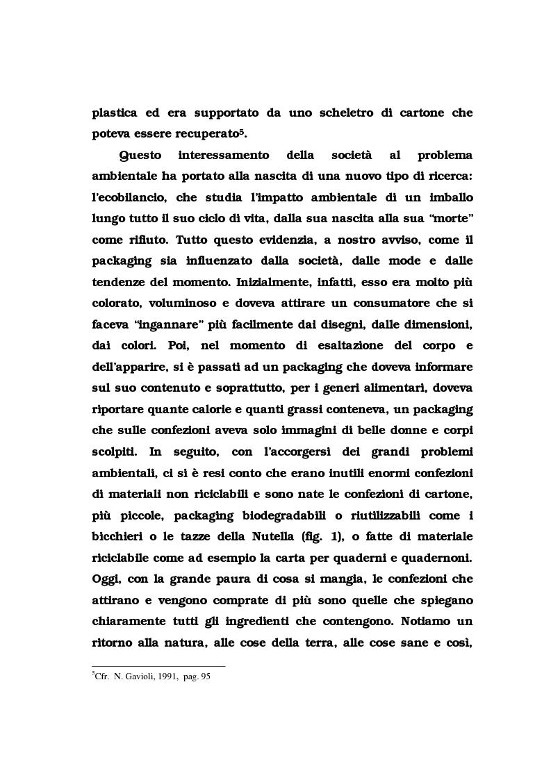 Anteprima della tesi: La pubblicità del packaging: il caso della Vodka Absolut, Pagina 14