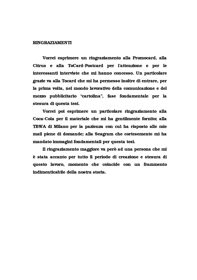 Anteprima della tesi: La pubblicità del packaging: il caso della Vodka Absolut, Pagina 4