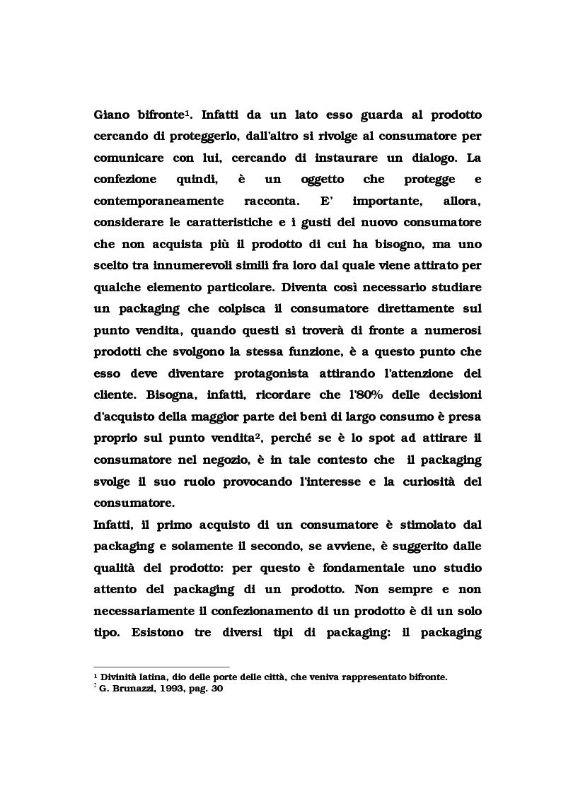 Anteprima della tesi: La pubblicità del packaging: il caso della Vodka Absolut, Pagina 6