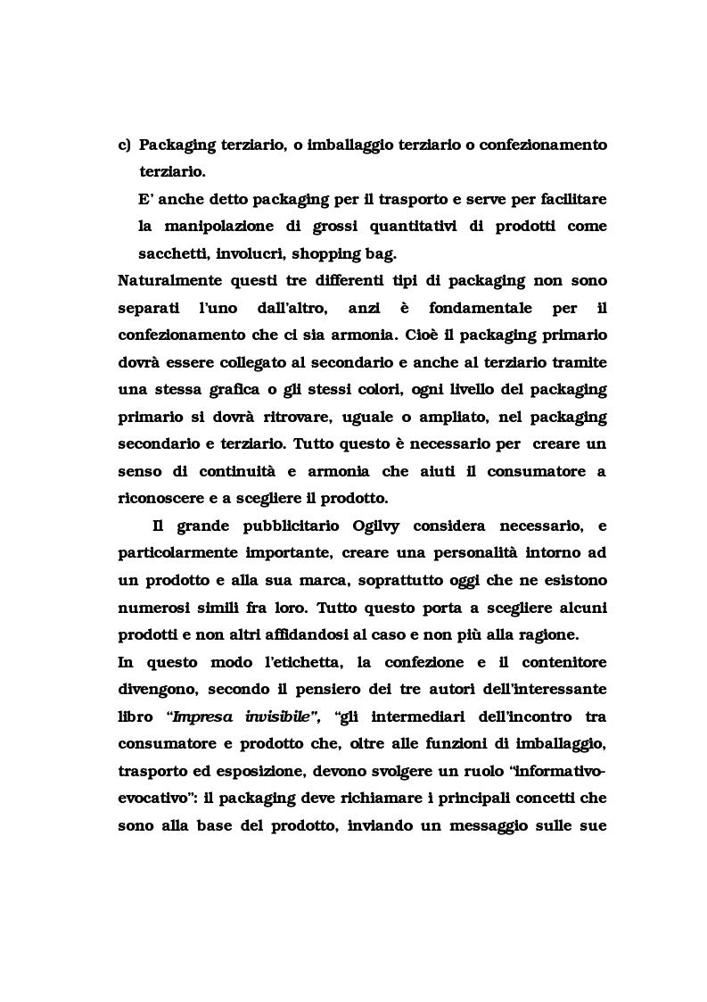 Anteprima della tesi: La pubblicità del packaging: il caso della Vodka Absolut, Pagina 8