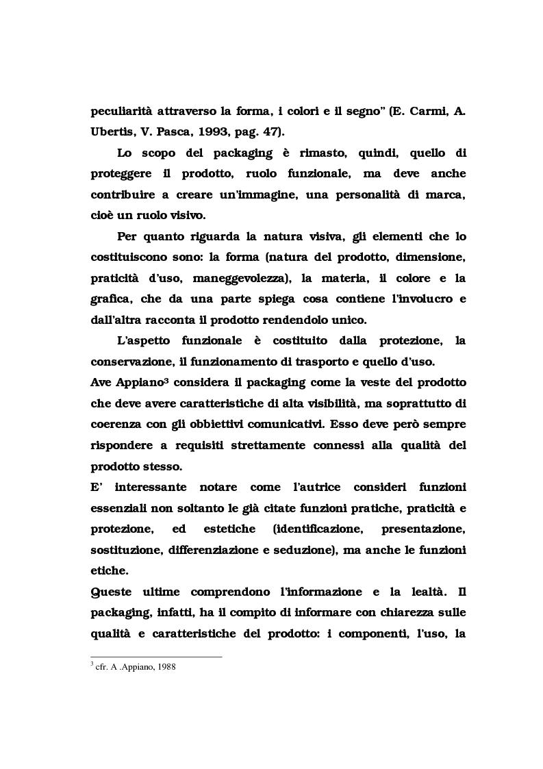 Anteprima della tesi: La pubblicità del packaging: il caso della Vodka Absolut, Pagina 9