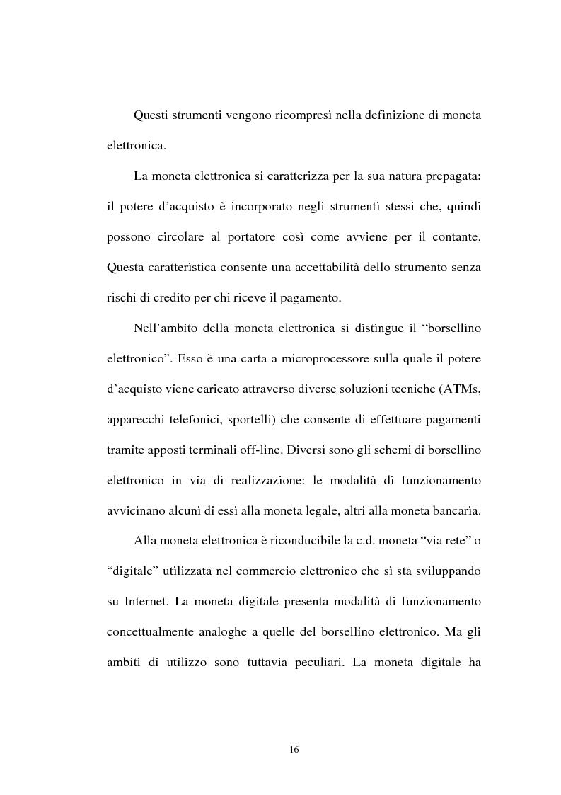 Anteprima della tesi: L'integrazione tra il sistema bancario e il sistema postale nell'offerta di servizi di pagamento, Pagina 11