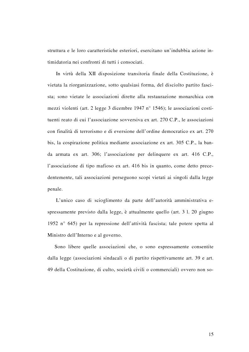 Anteprima della tesi: L'associazione sovversiva, Pagina 12