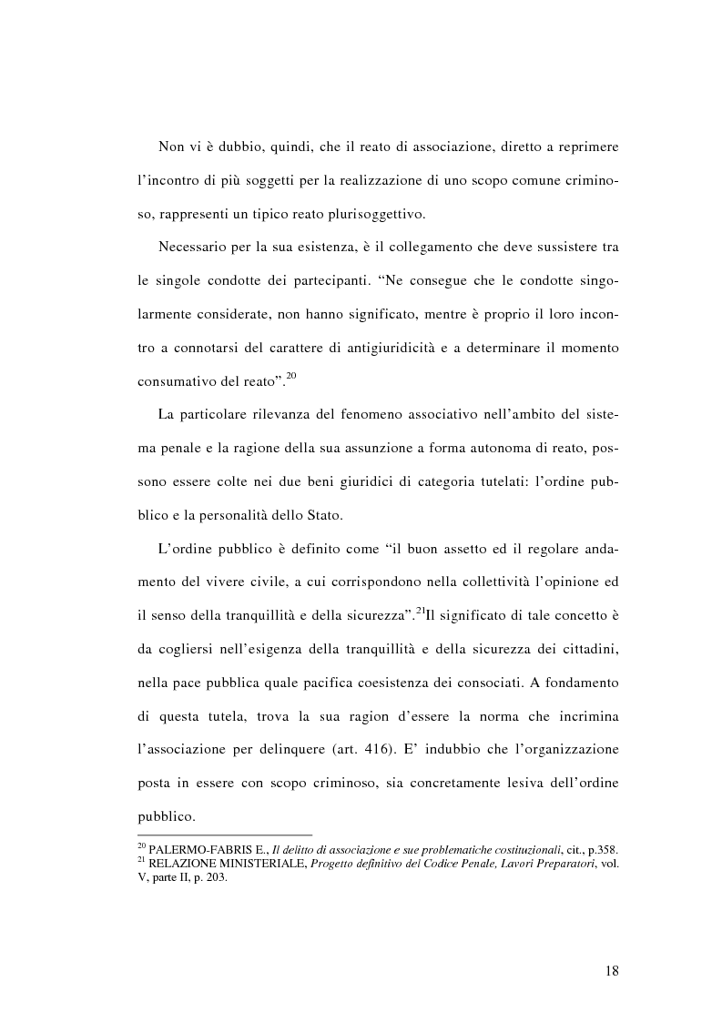 Anteprima della tesi: L'associazione sovversiva, Pagina 15