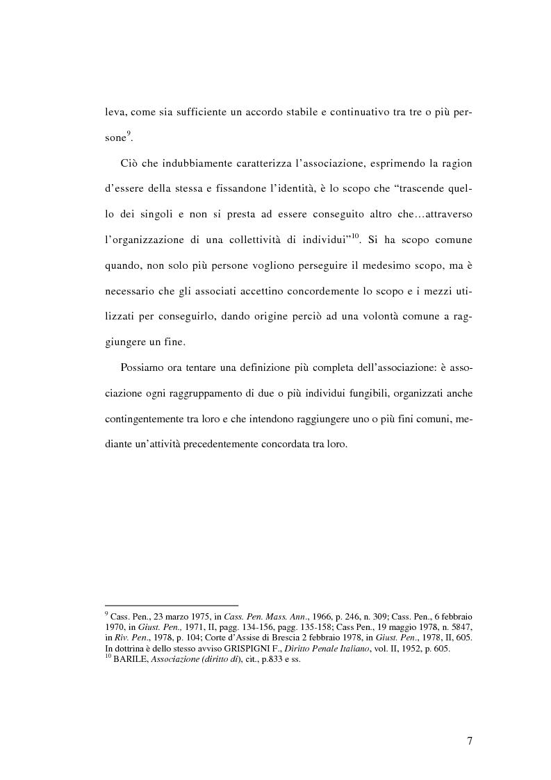 Anteprima della tesi: L'associazione sovversiva, Pagina 4