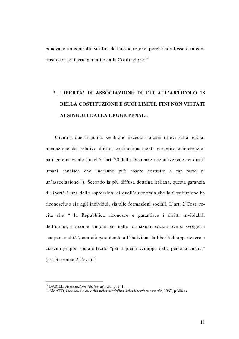 Anteprima della tesi: L'associazione sovversiva, Pagina 8