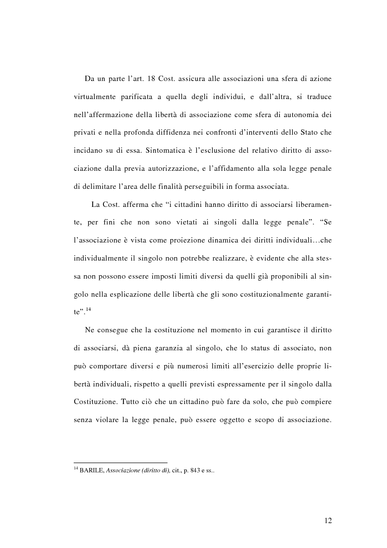 Anteprima della tesi: L'associazione sovversiva, Pagina 9