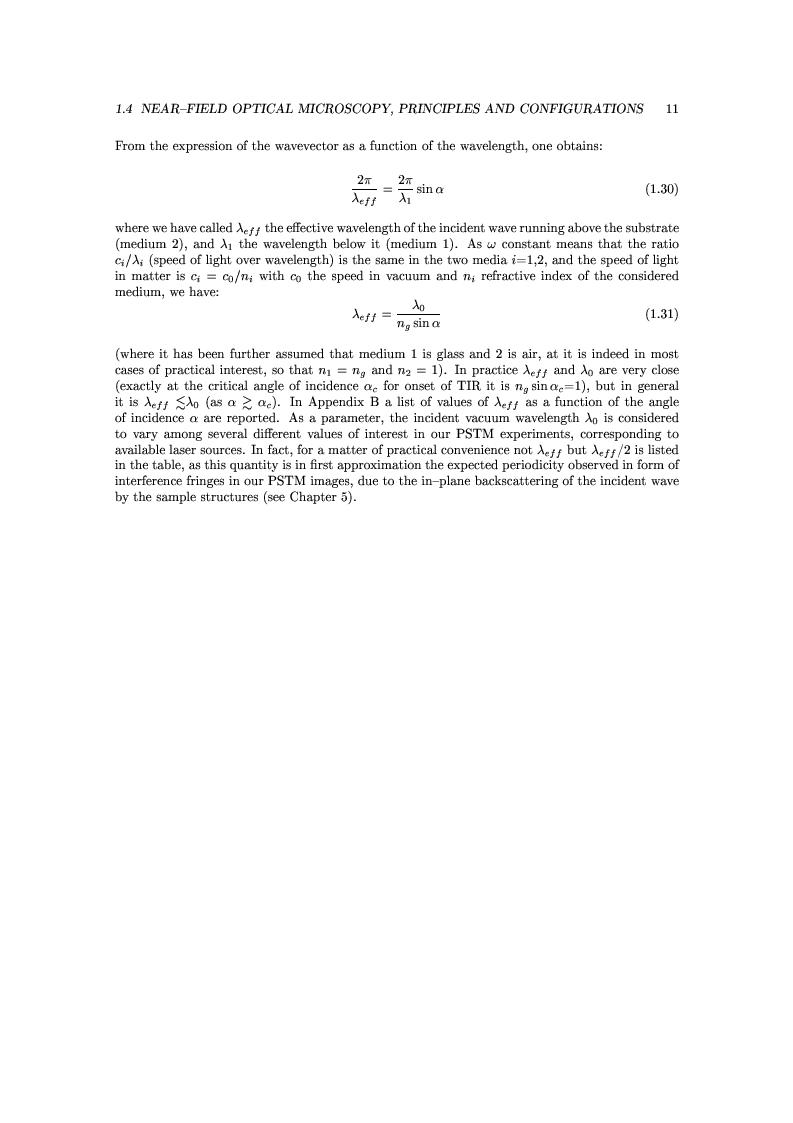 Anteprima della tesi: Near-Field Optics of Localized Surface Plasmons, Pagina 13