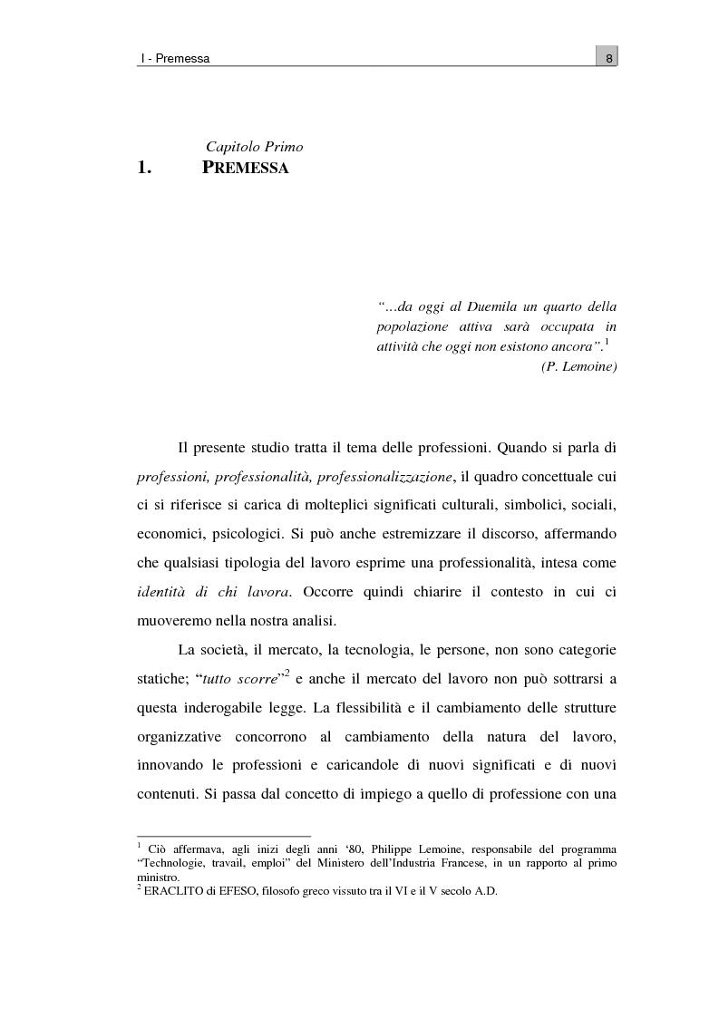 Anteprima della tesi: Il park manager: contenuti e prospettive per una nuova professione, Pagina 1