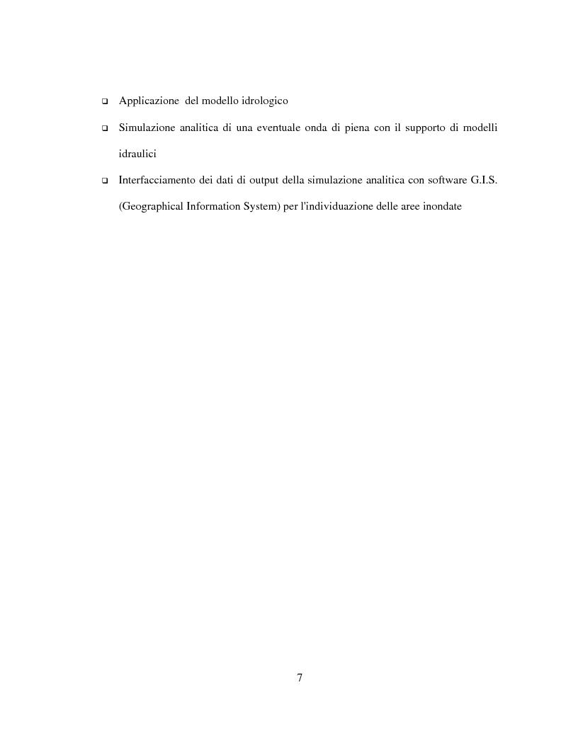 Anteprima della tesi: Generazione di un DTM da immagini telerilevate per l'applicazione di modelli idrologici afflussi-deflussi e definizione di aree perifluvialli a rischio di inondazione, Pagina 3
