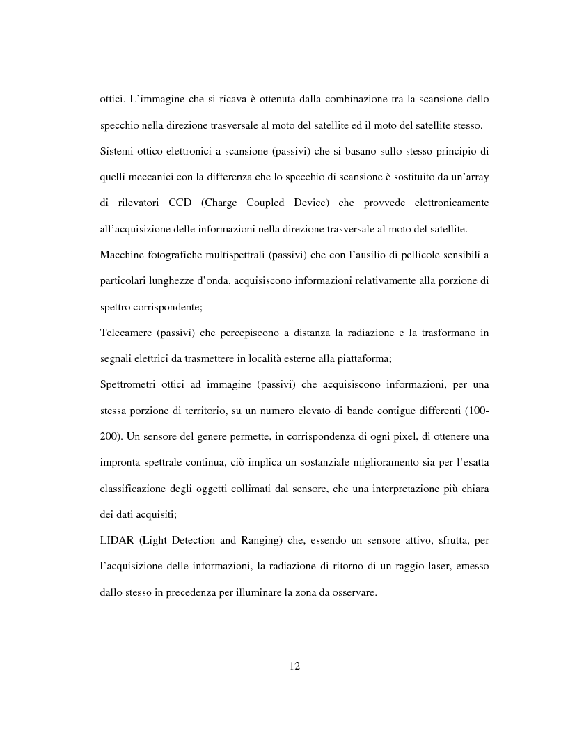Anteprima della tesi: Generazione di un DTM da immagini telerilevate per l'applicazione di modelli idrologici afflussi-deflussi e definizione di aree perifluvialli a rischio di inondazione, Pagina 8