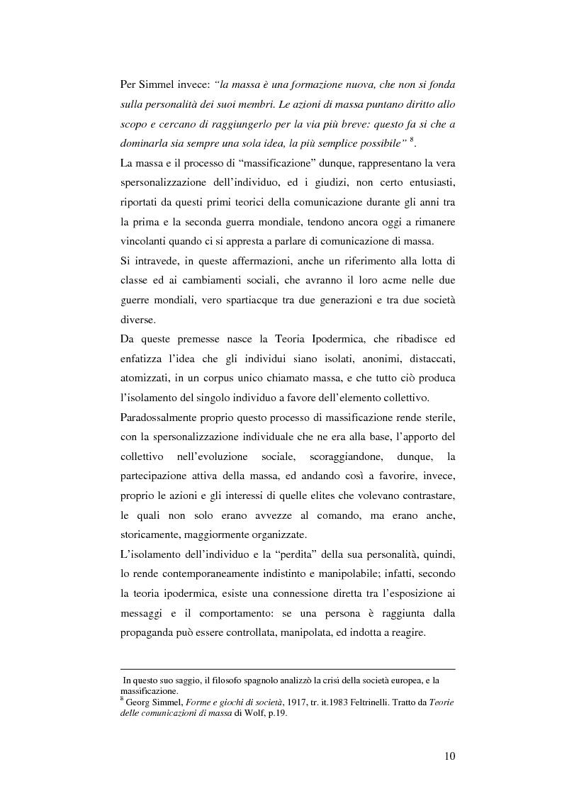 Anteprima della tesi: Il cellulare come media della comunicazione: in principio era solo voce, Pagina 10