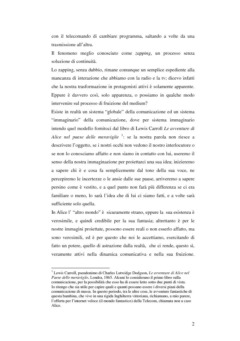 Anteprima della tesi: Il cellulare come media della comunicazione: in principio era solo voce, Pagina 2
