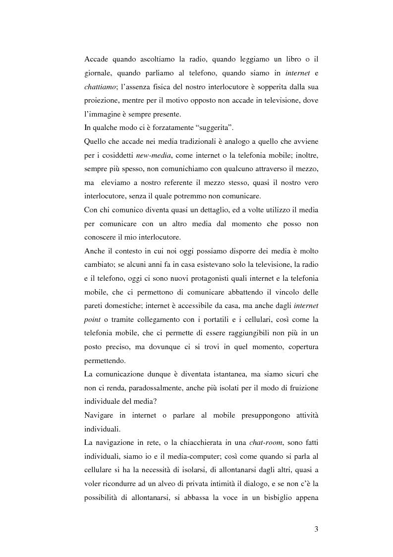 Anteprima della tesi: Il cellulare come media della comunicazione: in principio era solo voce, Pagina 3