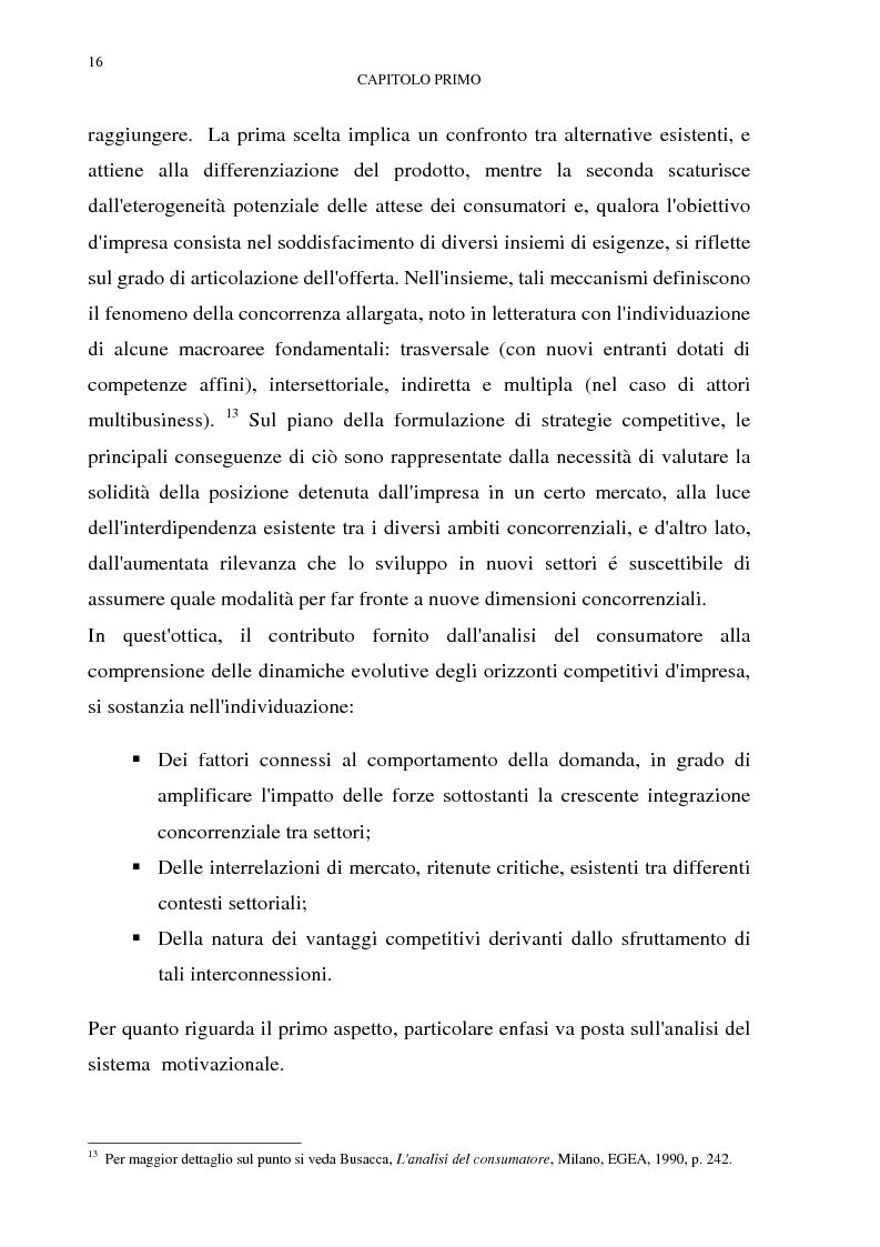 Anteprima della tesi: Gestione del multibusiness in Telecom Italia: l'internet ad alta velocità. Il caso 9 Telecom, Pagina 12