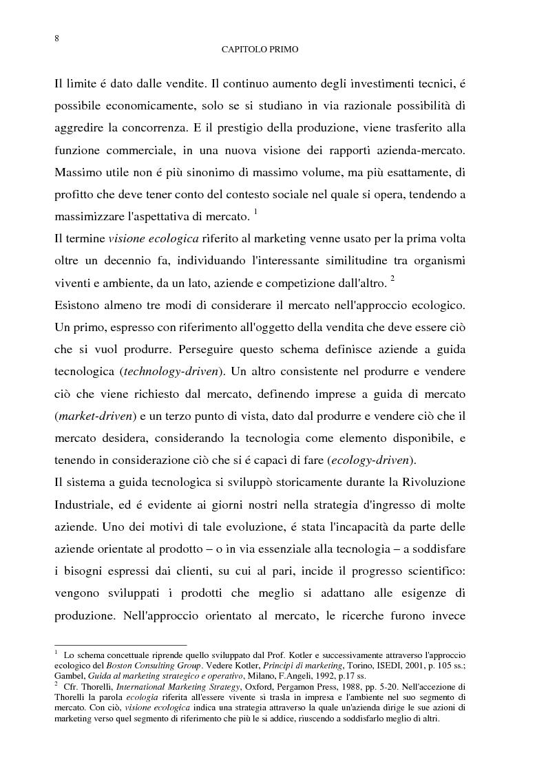 Anteprima della tesi: Gestione del multibusiness in Telecom Italia: l'internet ad alta velocità. Il caso 9 Telecom, Pagina 4