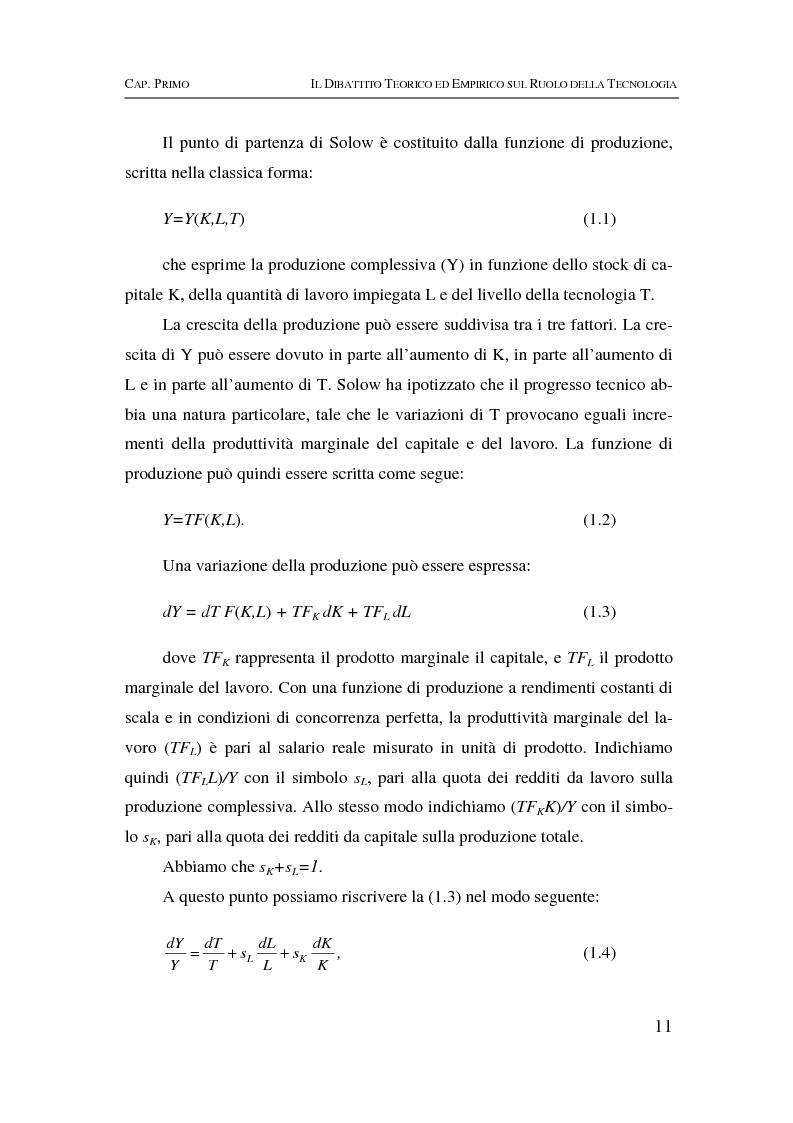 Anteprima della tesi: Information & communication technologies, liberalizzazione dei mercati finanziari e crescita economica, Pagina 11