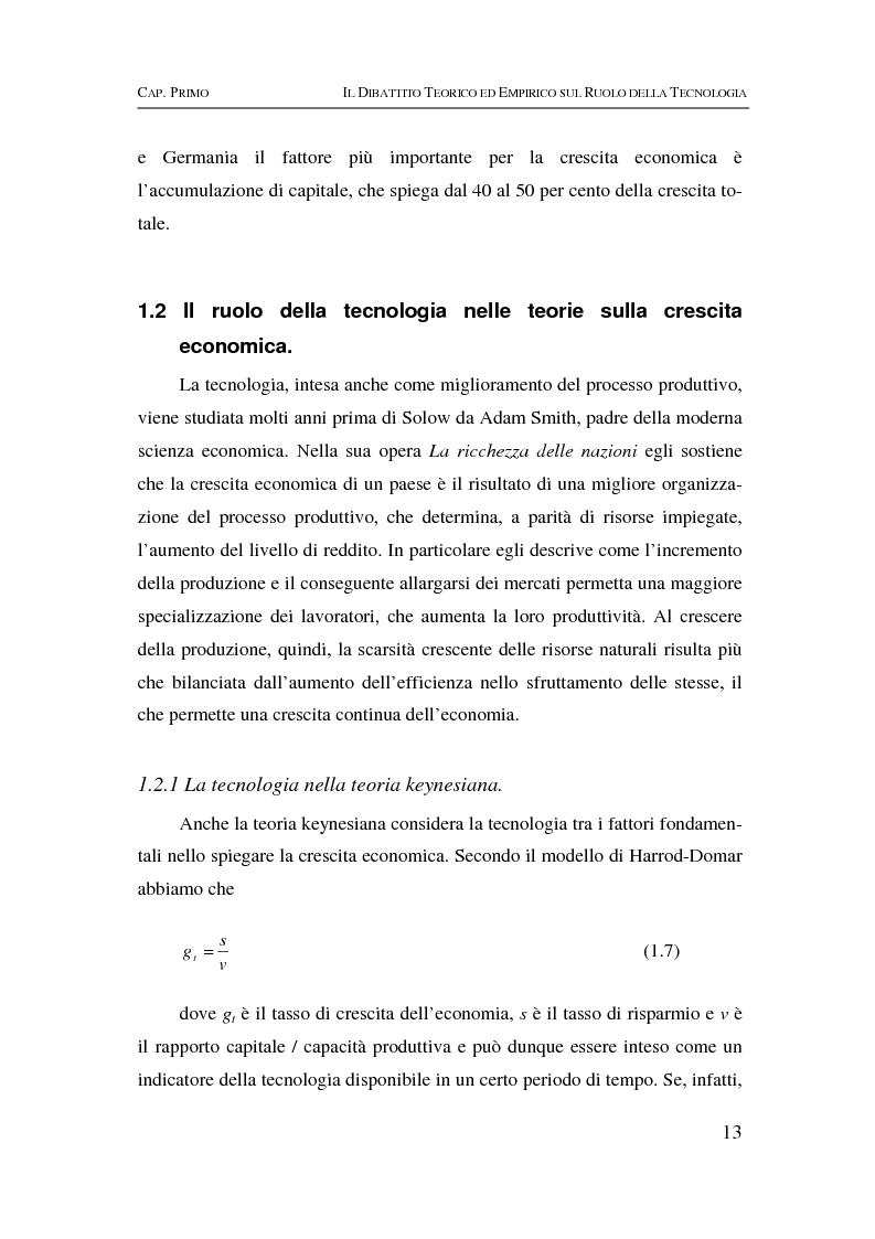 Anteprima della tesi: Information & communication technologies, liberalizzazione dei mercati finanziari e crescita economica, Pagina 13