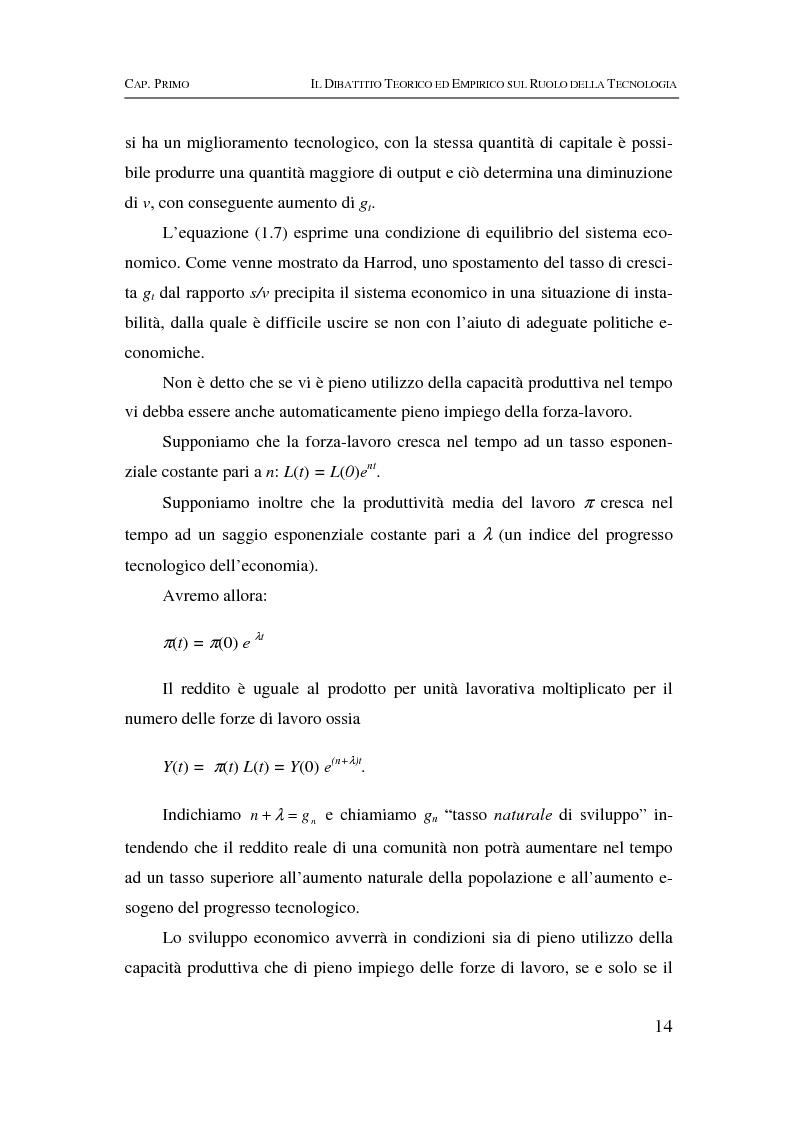 Anteprima della tesi: Information & communication technologies, liberalizzazione dei mercati finanziari e crescita economica, Pagina 14