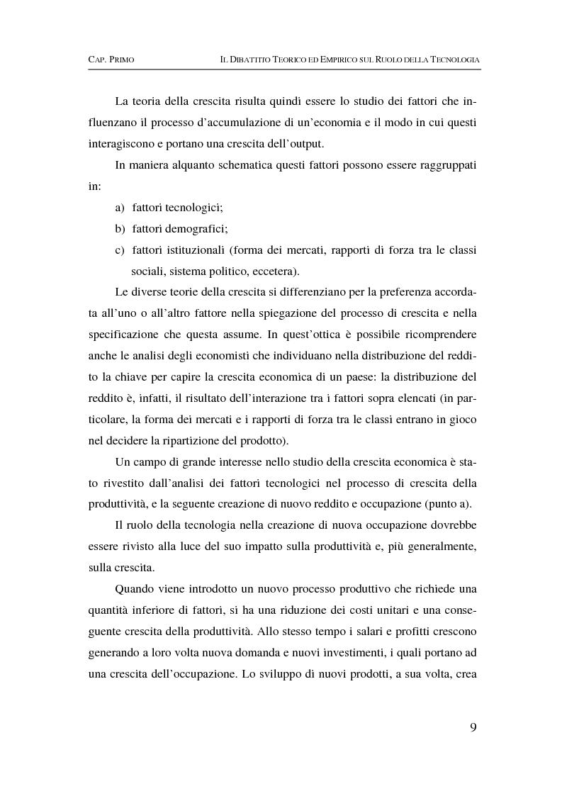 Anteprima della tesi: Information & communication technologies, liberalizzazione dei mercati finanziari e crescita economica, Pagina 9