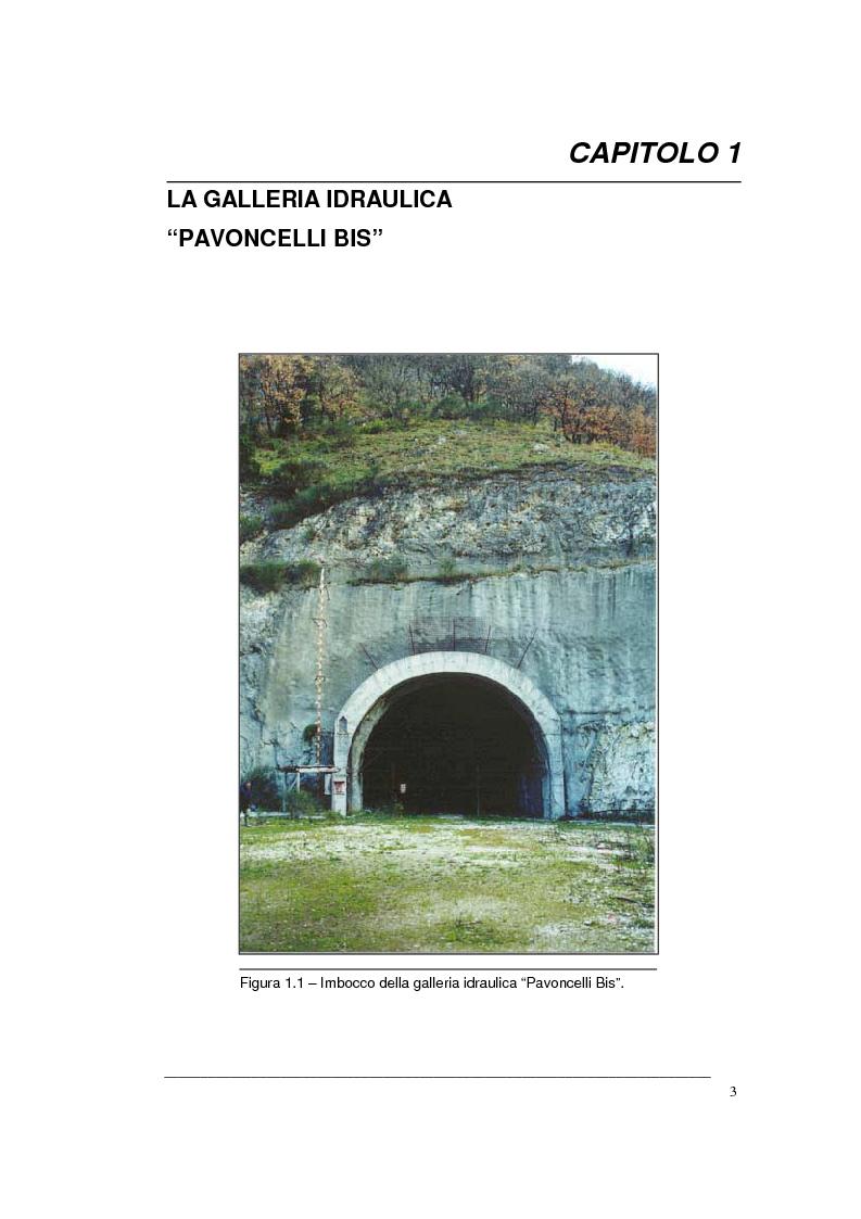 Anteprima della tesi: Creazione di un Gis per la caratterizzazione di un ammasso roccioso per la progettazione di una grande opera sotterranea, Pagina 3