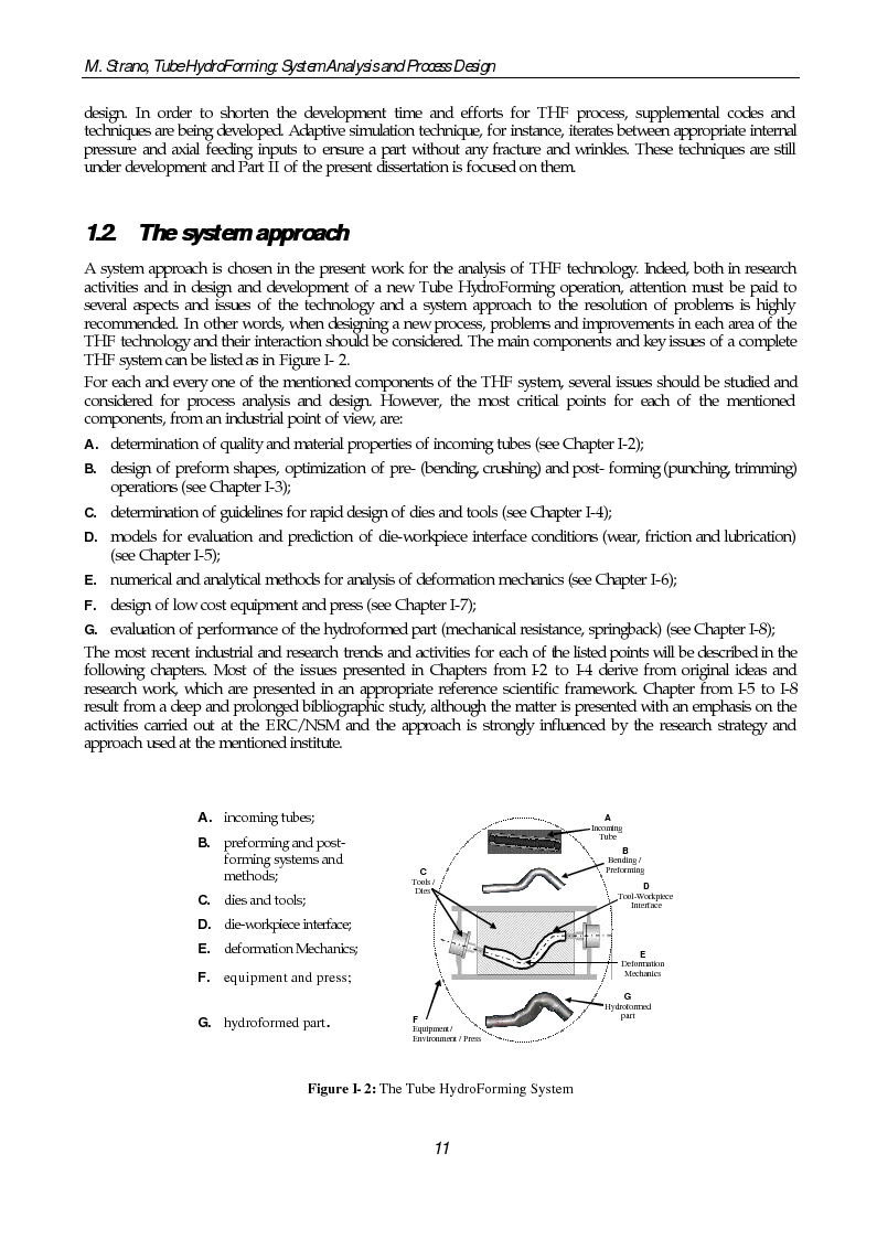 Anteprima della tesi: Tube Hydroforming: System Analysis and Process Design, Pagina 4