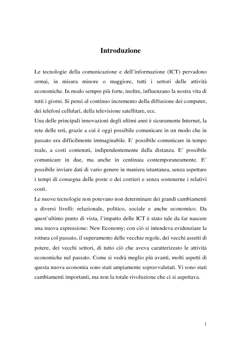 Anteprima della tesi: Il ruolo della logistica nello sviluppo del commercio elettronico, Pagina 1