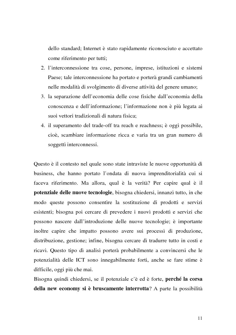 Anteprima della tesi: Il ruolo della logistica nello sviluppo del commercio elettronico, Pagina 11