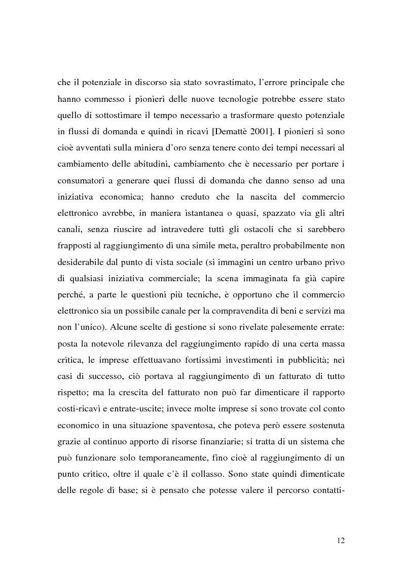 Anteprima della tesi: Il ruolo della logistica nello sviluppo del commercio elettronico, Pagina 12