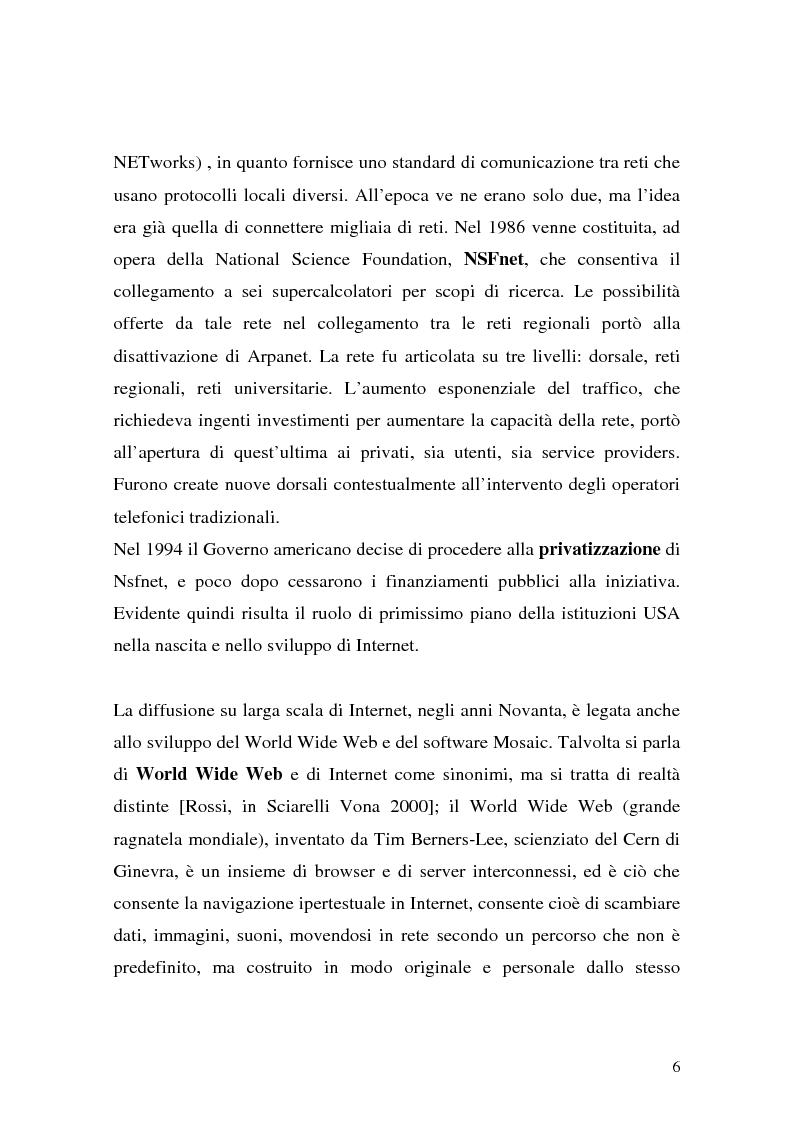 Anteprima della tesi: Il ruolo della logistica nello sviluppo del commercio elettronico, Pagina 6