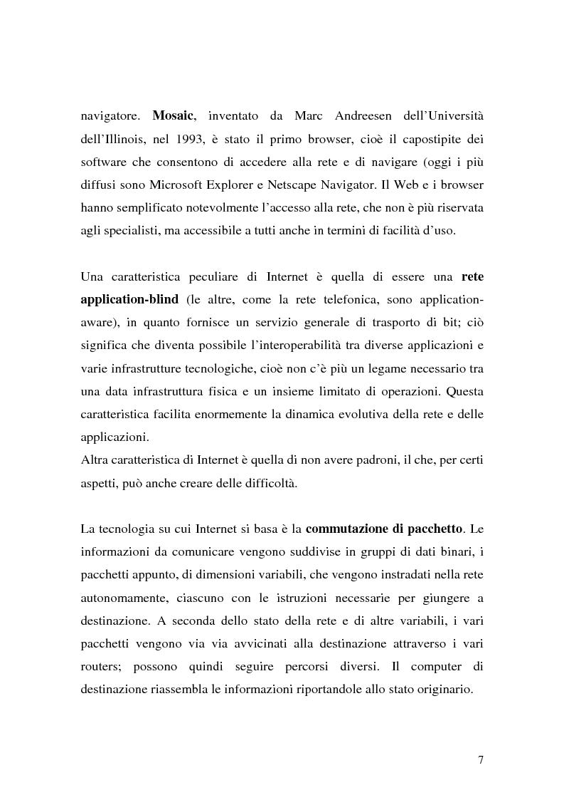 Anteprima della tesi: Il ruolo della logistica nello sviluppo del commercio elettronico, Pagina 7