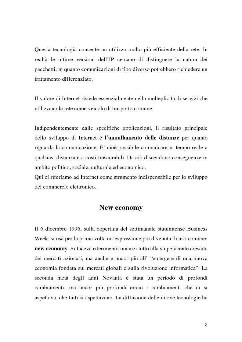 Anteprima della tesi: Il ruolo della logistica nello sviluppo del commercio elettronico, Pagina 8