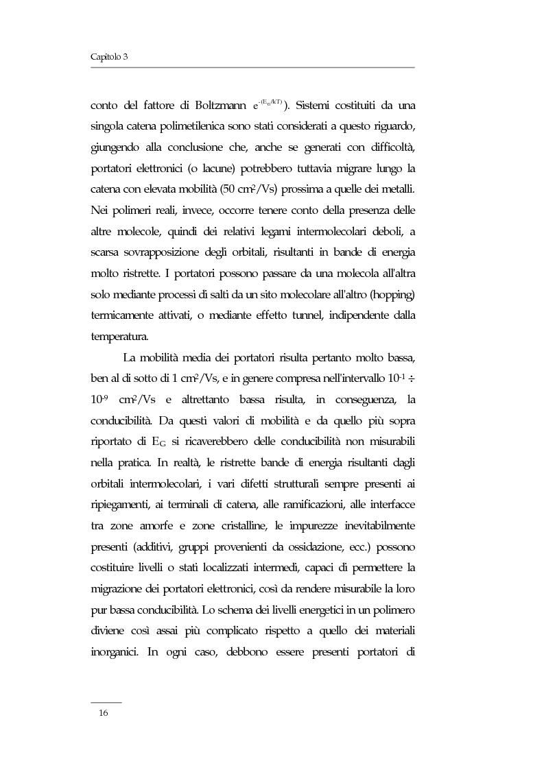 Anteprima della tesi: Resistività elettrica su polimeri isolanti, confronto teorico e sperimentale tra metodi di misura, Pagina 10