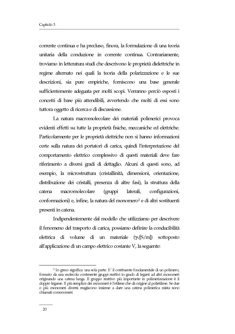 Anteprima della tesi: Resistività elettrica su polimeri isolanti, confronto teorico e sperimentale tra metodi di misura, Pagina 14