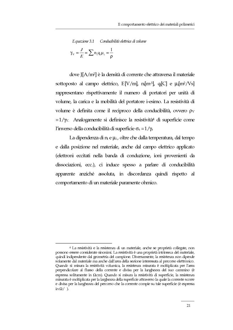 Anteprima della tesi: Resistività elettrica su polimeri isolanti, confronto teorico e sperimentale tra metodi di misura, Pagina 15